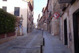 Cruce de la Calle Mayor con la Calle de San Pedro