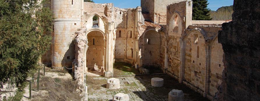Ruinas del Monasterio de Arlanza