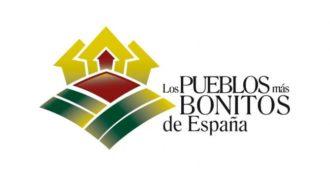 Logo de los pueblos más bonitos de España con enlace a la web oficial