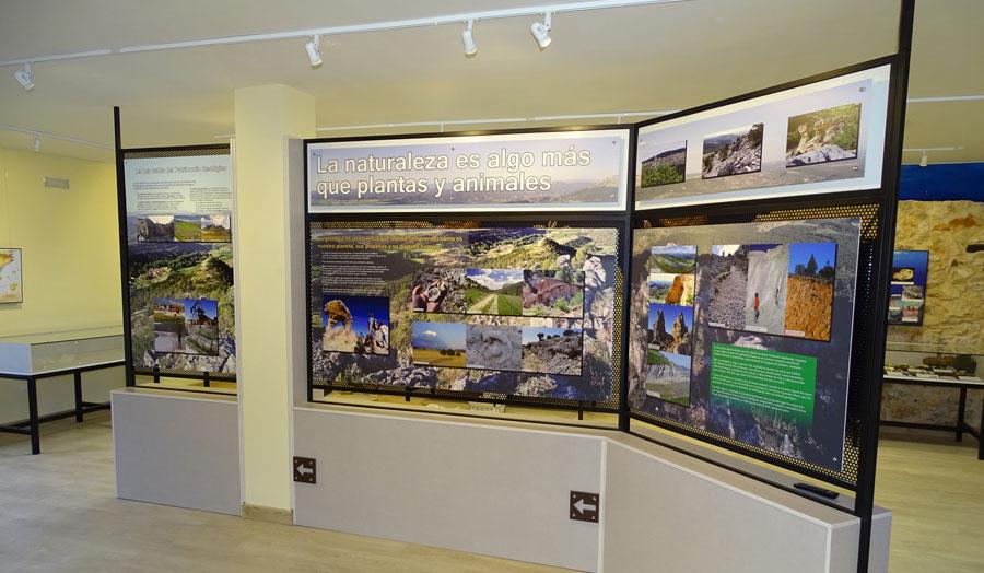 Sala del museo de Tejada