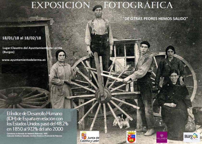 cartel de la exposición fotográfica