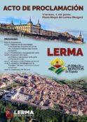 Acto de proclamación de Lerma como uno de los pueblos más bonitos @ Lerma | Castilla y León | España
