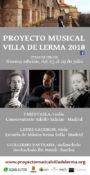 Cartel del Proyecto Musical Villa de Lerma