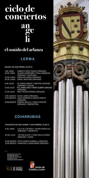 Cartel conciertos Angeli