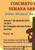 CONCIERTO BANDA DE MUSICA (Lerma) @ Colegiata de San Pedro