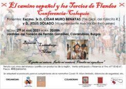 """CONFERENCIA """"EL CAMINO ESPAÑOL"""" Covarrubias @ Covarrubias"""